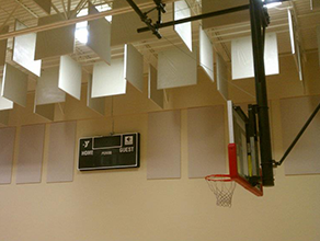Gymnasium Acoustic Solutions in Charlotte, NC