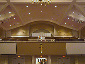 church hall Acoustic Solutions in Charlotte, NC